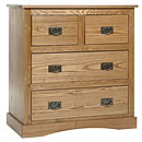Vanima 2plus2 Drawer Chest