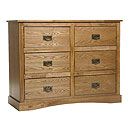 Vanima 3plus3 Drawer Wide Chest