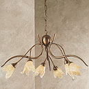 Windsor 6 Arm Chandelier Bronze