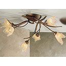 Windsor 6 Arm Ceiling Chandelier Bronze