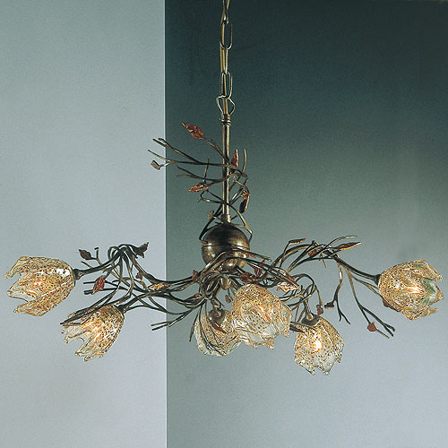 Autunno 6 Arm Chandelier