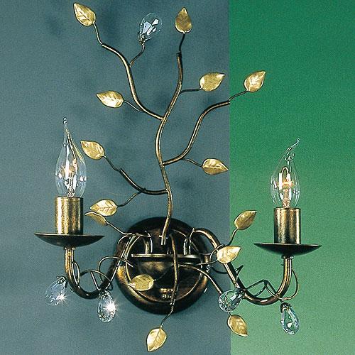 Donatella 2 Arm Wall Mounted Lamp