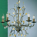 Donatella 5 Arm Chandelier