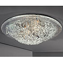 Vetro Ceiling Light Clear