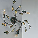 Isabella 3 Arm Wall Light Bronze