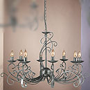 York 8 Arm Chandelier