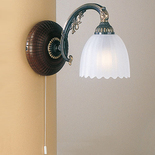 Angel Single Over Arm Wall light