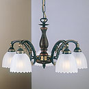 Angel 5 Over Arm Chandelier