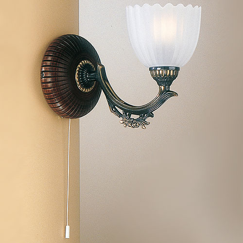 Angel Single Under Arm Wall light