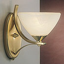Dorchester Wall Light Satin Brass