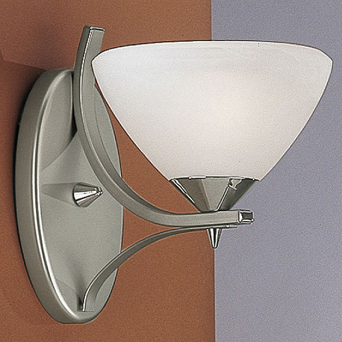 Dorchester Wall Light Satin Nickel