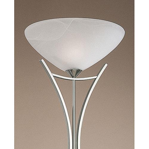 Dorchester Floor Lamp Satin Nickel
