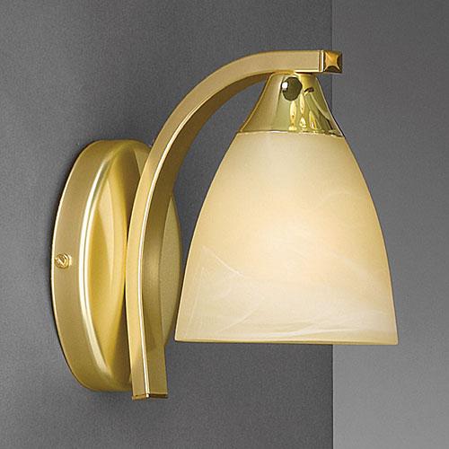 Dorchester Wall Down Light Satin Brass