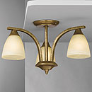 Dorchester 3 Arm Chandelier Bronze