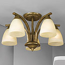 Dorchester 5 Arm Chandelier Bronze