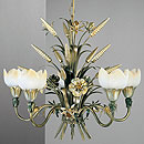 Fiorentina 5 Arm Chandelier