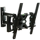 Levv Single Stud Steel Solid Articulating LCD Wall Mount