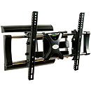 Levv Double Stud Steel Solid Articulating LCD Wall Mount