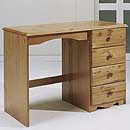 Verona Antique 4 Drawer Dressing Table