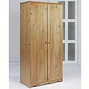 Verona Antique 2 Door Wardrobe Version A