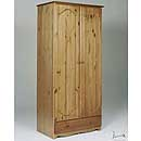 Verona Antique 2 Door Wardrobe and Drawer Version A