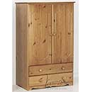 Verona Antique Tall Boy with Drawers