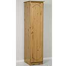Verona Antique 1 Door Wardrobe