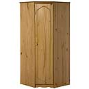 Verona Antique Corner Wardrobe