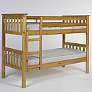 Verona Barcelona 2ft6in Antique Bunk Bed