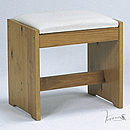 Verona Upholstered Dressing Table Stool