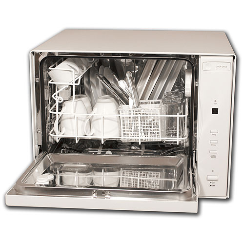 Countertop Dishwasher In Cabinet : Countertop Dishwasher : Small in Size but Big on Results ...