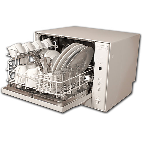 Countertop Dishwasher Size : Countertop Dishwasher : Small in Size but Big on Results ...