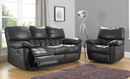 BM Furniture Baron 3 Piece Motion Suite