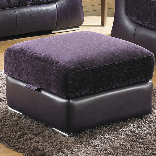 BM Furniture Clarissa Storage Footstool