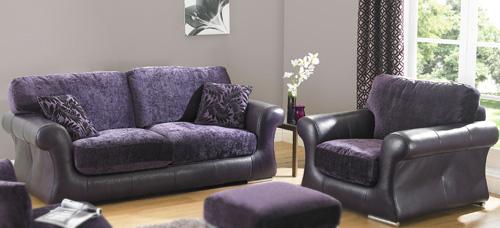 BM Furniture Clarissa 3 Piece Suite