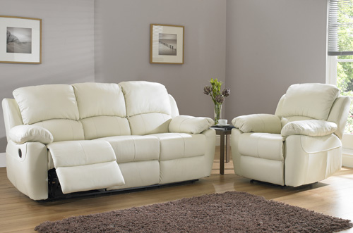 BM Furniture Denley 3 Piece Motion Suite