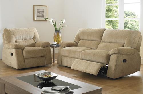BM Furniture Devon 3 Piece Motion Suite