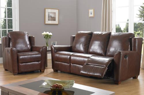 BM Furniture Latina 3 Piece Motion Suite