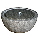 Stone and Water Bowlero Self Contained Granite Water Feature