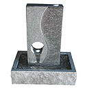 Stone and Water Calmero Self Contained Granite Water Feature