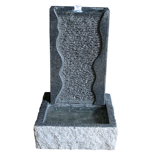 Stone and Water Wallero Self Contained Granite Water Feature