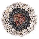 Polished River stones BLACK