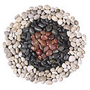 Polished River stones RED/BROWN