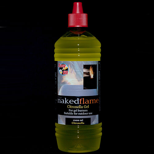 The Naked Flame Bio Ethanol Citronella Fire Gel