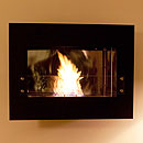 The Naked Flame Infinity Wall Mounted Bio Ethanol Fire