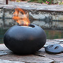 The Naked Flame Pebble Medium Bio Ethanol Fire