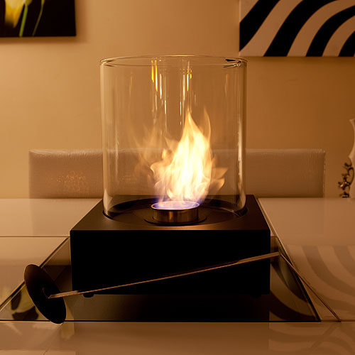 The Naked Flame Sphere Portable Bio Ethanol Fire
