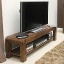 Shiro Walnut Low TV Cabinet