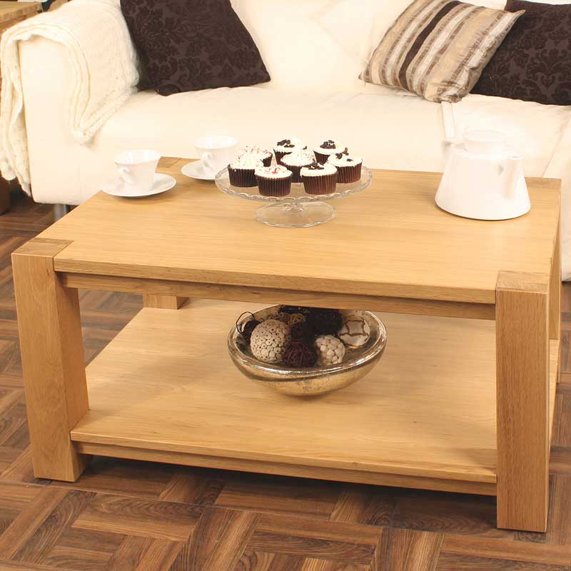 Aston Oak Coffee Table Medium
