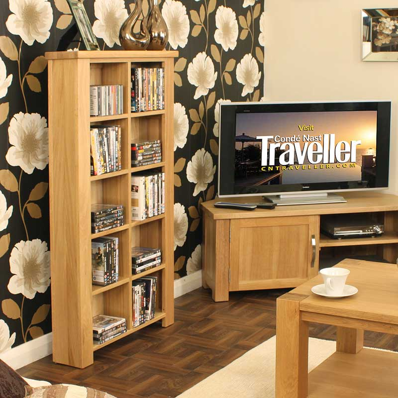 Aston Oak DVD/CD Storage Unit